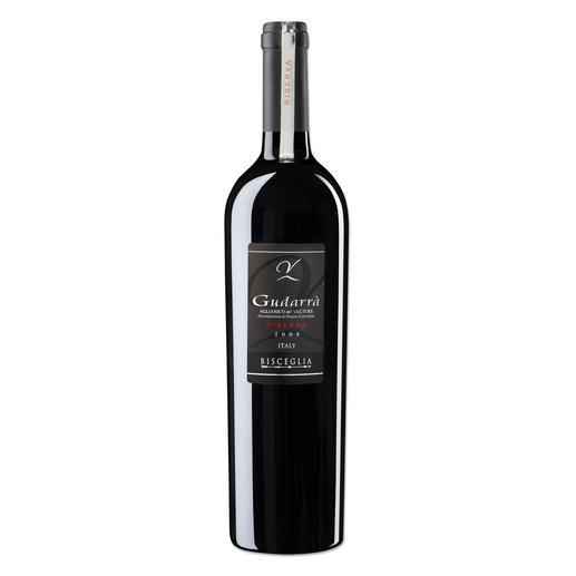 "Gudarra Riserva 2008, Vulcano & Vini S.R.L., Venosa, Italien ""Ein Meisterwerk."" (Robert Parker, Wine Advocate 226, 08/2016)"