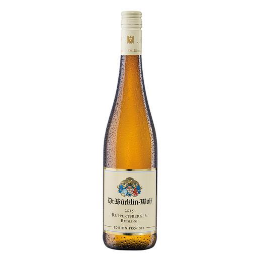 Ruppertsberger Riesling 2015, Weingut Dr. Bürklin-Wolf, Wachenheim, Pfalz, Deutschland Aus der Lage eines Grossen Gewächses. Zum Preis eines Ortsweines.