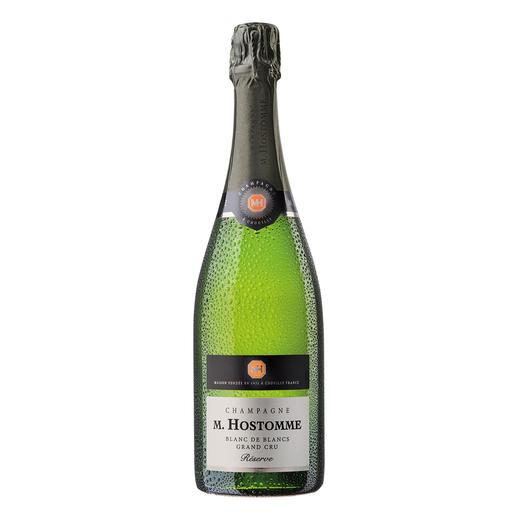 "Champagne Hostomme Blanc de Blancs Reserve, Frankreich ""Ein First Class-Champagner. 90+ Punkte. ""(Robert Parker, www.robertparker.com, Interim Report, 31.01.2017)"