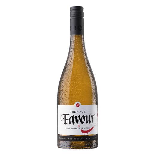 """Sauvignon The King's Favour 2016, Marisco Vineyards Ltd., Marlborough, Neuseeland Der Weisswein des Jahres aus der """"neuen Welt""""."""
