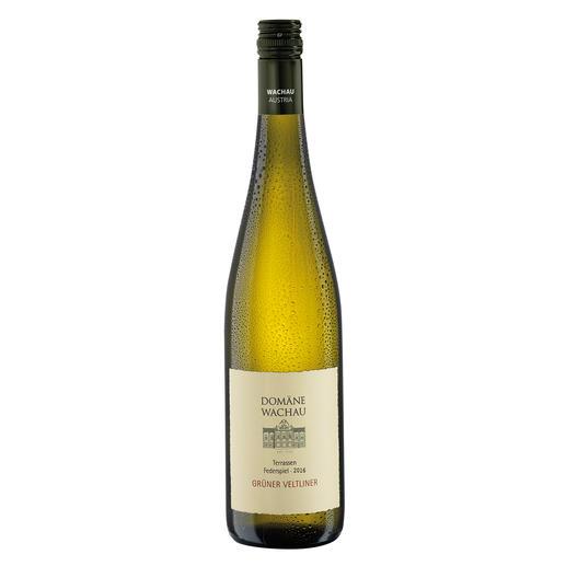 """Grüner Veltliner Federspiel """"Terrassen"""" 2016, Qualitätswein, Domäne Wachau, Österreich Der Weisswein des Jahres aus Österreich. (Weinwirtschaft 01/2009)"""