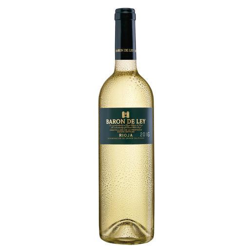Rioja Blanco 2016, Baron de Ley, Rioja DOC, Spanien Der weisse Rioja: kaum bekannt. Und daher (noch) erfreulich günstig.