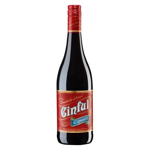 Cinful 2015, Darling Cellars, Darling, Südafrika Cinsault – oft verkannt. Und selten so verführerisch.
