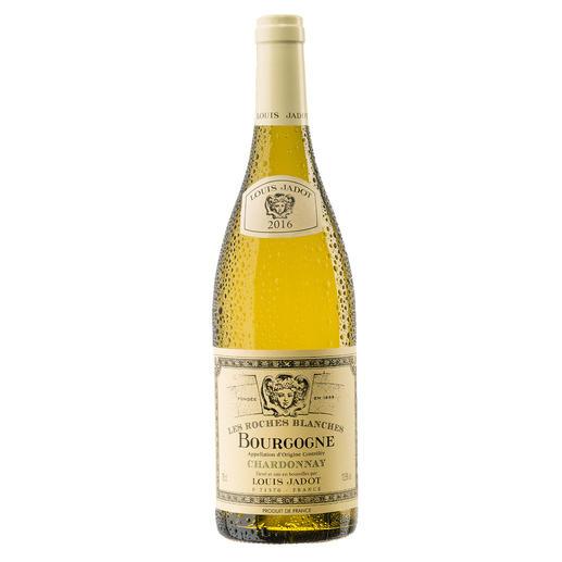 """Bourgogne Chardonnay """"Les Roches Blanches"""" 2016, Louis Jadot, Burgund, Frankreich Endlich ein weisser Burgunder, der seinen Namen verdient."""