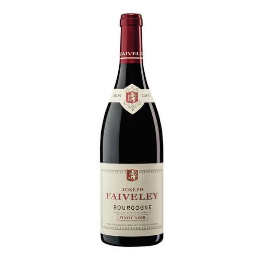 Pinot Noir Faiveley 2015, Bourgogne AOC, Frankreich Seltenheit: ein roter Burgunder, der durch sein Preis-Genuss-Verhältnis überzeugt.