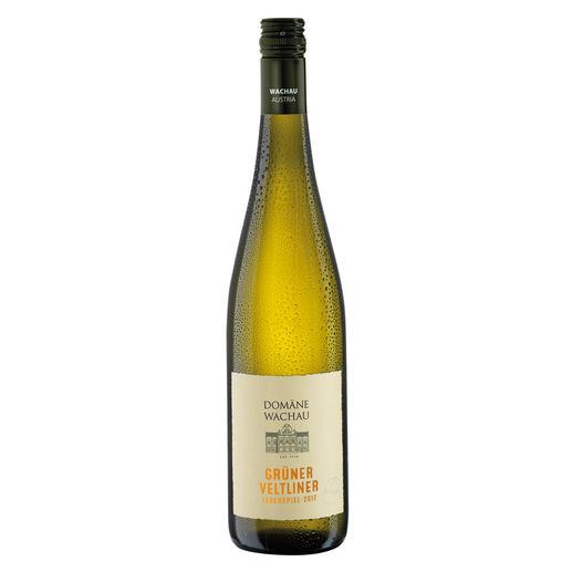 """Grüner Veltliner Federspiel """"Terrassen"""" 2017, Domäne Wachau, Österreich Der Weisswein des Jahres aus Österreich. (Weinwirtschaft 01/2009)"""