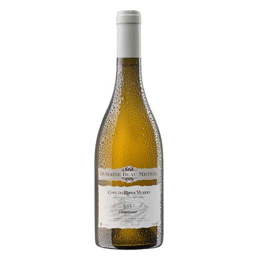 Beau Mistral Blanc 2017, Domaine Beau Mistral, Rhône, Frankreich 94 Punkte von Robert Parker. (Robert Parker, Wine Advocate 228, 12/2016)