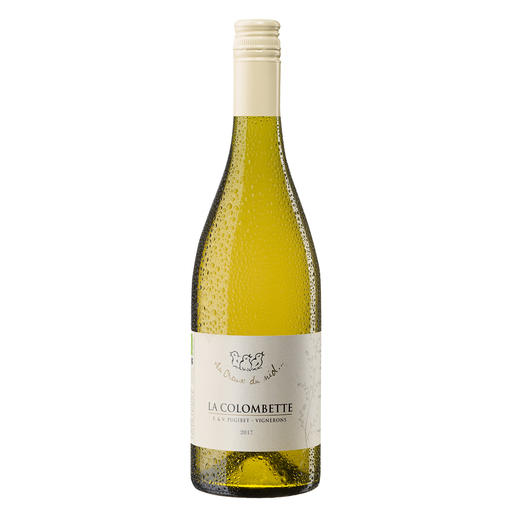 """La Colombette Cabernet Blanc 2017, Domaine La Colombette, Languedoc, Frankreich Weinbau ganz ohne Pestizide und Fungizide? Von Frankreichs """"innovativstem Winzer 2018"""". (La Revue de Vin de France, Ausgabe Februar 2018)"""
