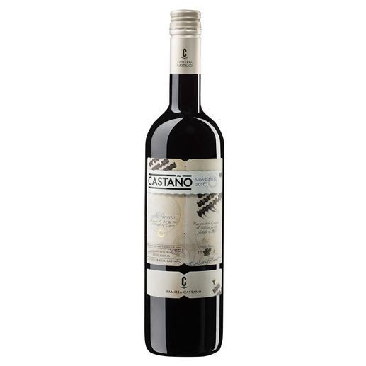 """Castaño Monastrell 2016, Bodegas Castaño, Yecla, Spanien """"Der ist fast zu gut für den Preis. Wow!"""" (Robert Parker. Wine Advocate 234, 12/2017)"""