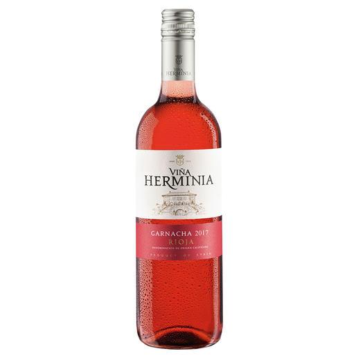 Viña Herminia Rosado 2017, Rioja, Spanien Der neue Typ Rosé-Wein.
