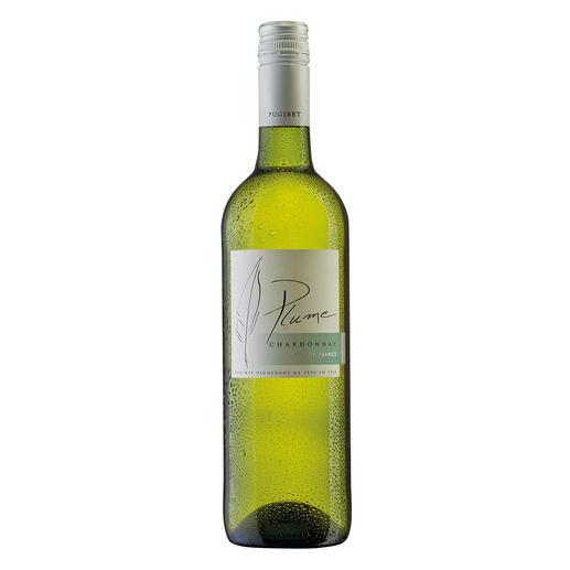 Plume Chardonnay 2017, Domaine La Colombette, Coteaux du Libron, Frankreich Genuss ohne Reue. Nur 9 % Alkohol. Aber 100 % Genuss.
