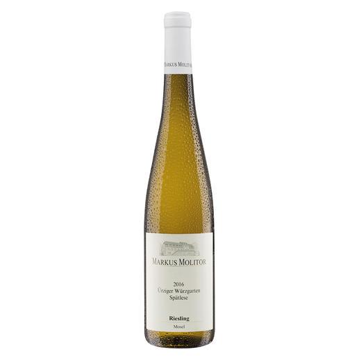 """Ürziger Würzgarten Spätlese 2016, Markus Molitor, Mosel, Deutschland """"… grossartige Komplexität. 95+ Punkte."""" (Wine Advocate Interim Issue, 03/2018)"""