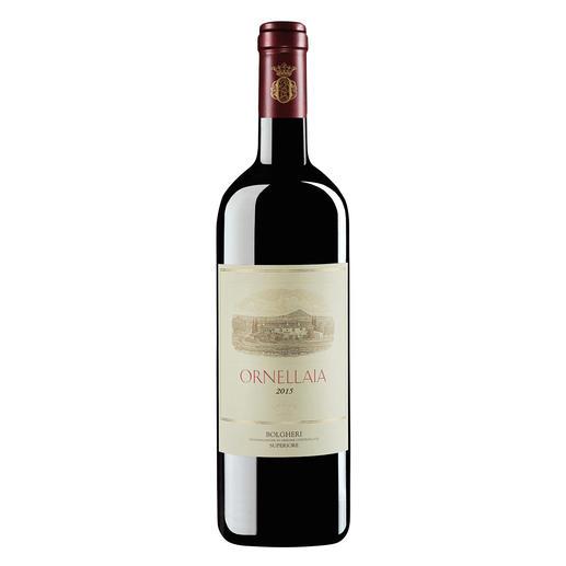 Ornellaia 2015, Tenuta dell`Ornellaia, Bolgheri, Toskana, Italien Grosser Wein aus grossem Jahrgang. (Doch leider nur in kleiner Menge.)
