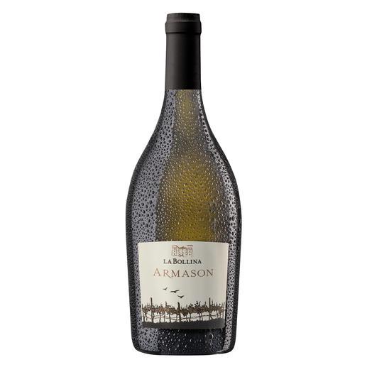 """Armason 2017, La Bollina, Piemont, Italien """"Einer der besten Weissweine Italiens. 96 Punkte."""" (Luca Maroni über den Jahrgang 2012, lucamaroni.com, 08.07.2013)."""