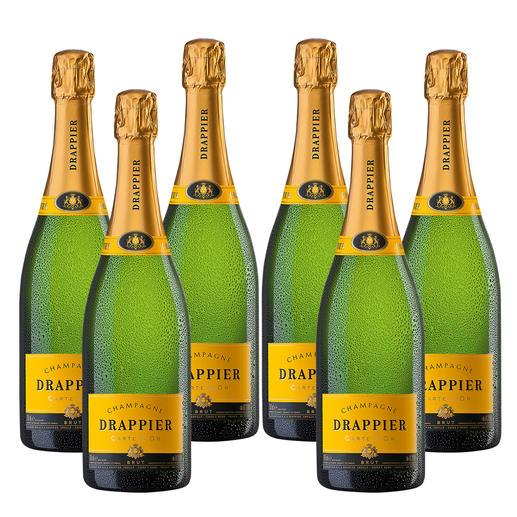Champagne Drappier Carte d'Or, 6 Flaschen à 0,75l Insidertipp. Der klassisch, kraftvolle Champagner.