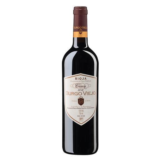 Burgo Viejo Crianza 2016, Bodegas de Familia Burgo Viejo, Rioja, Spanien Rioja. 92 Punkte von James Suckling.(www.jamessuckling.com, 02.08.2018)