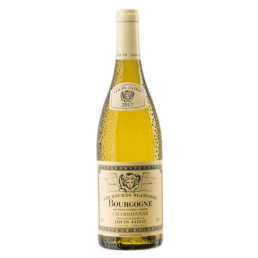 """Bourgogne Chardonnay """"Les Roches Blanches"""" 2017, Louis Jadot, Burgund, Frankreich Endlich ein weisser Burgunder, der seinen Namen verdient."""