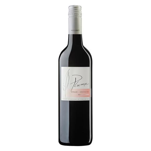 Plume Rouge 2018, Domaine La Colombette, Coteaux du Libron, Frankreich Trocken. Nur 9 % Alkohol. Aber 100 % Genuss.