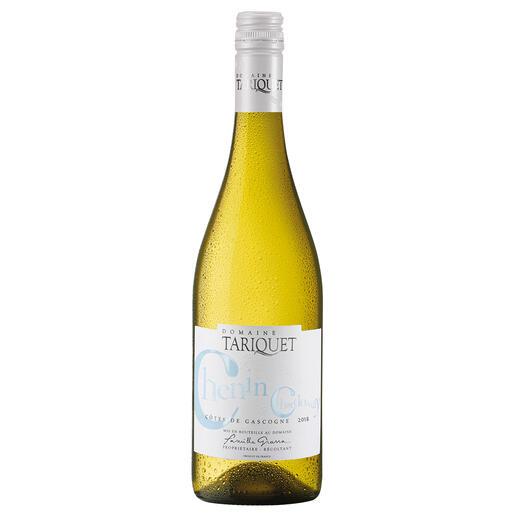 """Chenin-Chardonnay 2018, Côtes de Gascogne, Frankreich """"Der beste Weisswein aus Frankreich."""" (Von mehr als 50 französichen Weissweinen, Mundus Vini Frühjahrsverkostung 2014, www.mundusvini.com)"""