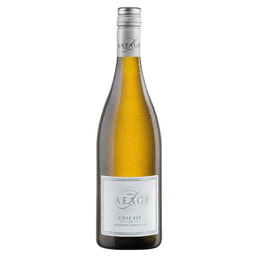 "Blanc Côté Est 2019, Domaine Lafage, Pays d'Oc, Frankreich ""Den sollte man kistenweise kaufen."" (Robert Parker, Wine Advocate 224, 04/2016 über den Jahrgang 2015)"