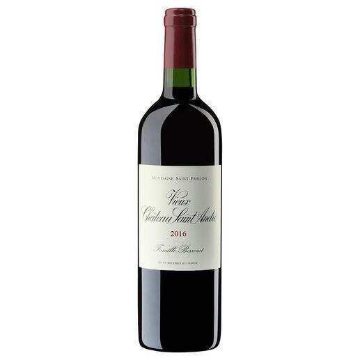 Vieux Château Saint André 2016, Montagne Saint-Emilion, Bordeaux, Frankreich - Der bezahlbare Bordeaux mit dem Know-how von Château Petrus.  Vom Weinmacher des Jahres 2018. (www.thedrinksbusiness.com, 19.03.2018)