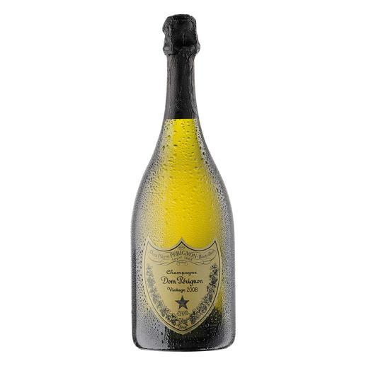 Dom Pérignon 2008, Champagne, Frankreich Der wohl berühmteste Champagner der Welt.