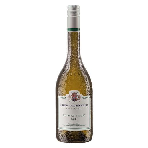 Tokaj Muscat Blanc 2017, Gróf Degenfeld Wine Estate, Tokaj, Ungarn Weltberühmt für seine edelsüssen Weine. Doch der Geheimtipp ist dieser Tokaj Muscat Blanc.