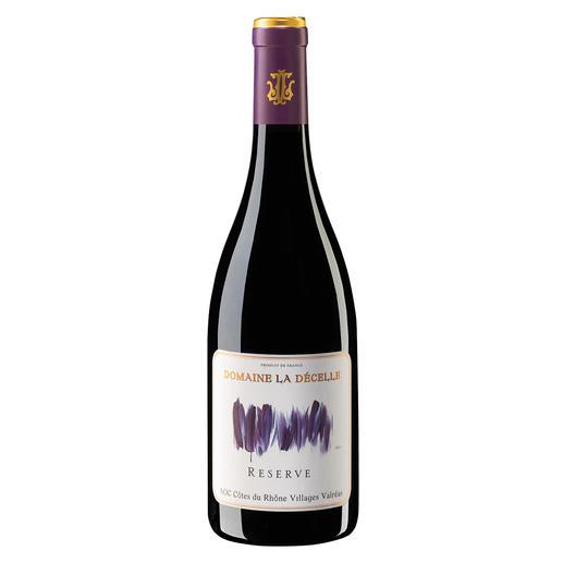 Côtes du Rhône Villages Décelle Reserve 2017, Domaine de la Décelle, Rhône, Frankreich 95 Punkte im Decanter. Nur 18,95 Fr. (Decanter, Gold bei den World Wine Awards 2019)