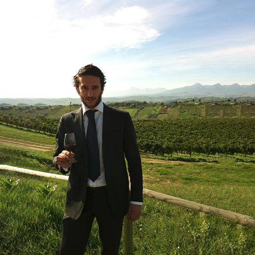 Weinmacher Matteo Bernabei