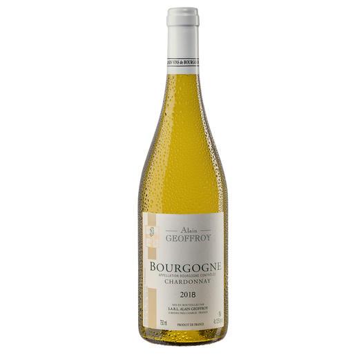 Bourgogne Chardonnay 2018, Domaine Alain Geoffroy, Burgund, Frankreich Seltenheit: Ein Bourgogne Chardonnay, der durch sein Preis-Genuss-Verhältnis überzeugt.