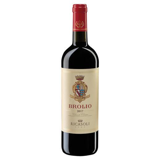 Chianti Classico Brolio 2017, Barone Ricasoli Spa Agricola, Toskana, Italien Vom Erfinder eines der berühmtesten Weine der Welt.  92 Punkte. (www.jamessuckling.com, 10.April2019)