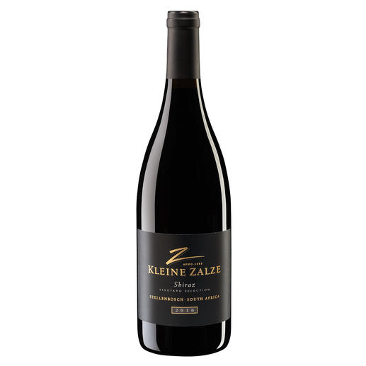 "Kleine Zalze Shiraz 2016, Kleine Zalze, Stellenbosch, Südafrika Der neueste Coup vom dreifachen ""New World Producer of the Year."" (www.sommelierwineawards.com, New World Producer of the Year, 2019, 2018, 2015)"