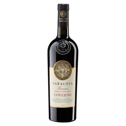 "Toscana Saracosa 2018, Barbanera - Duca di Saragnano, Toscana, Italien ""Einer der besten Rotweine Italiens. Chapeau."" (Luca Maroni, www.lucamaroni.com, Jahrgänge 2018, 2017, 2016)"