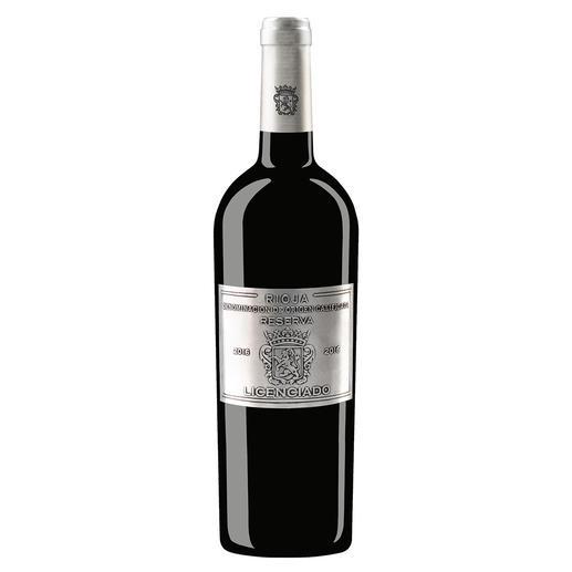Licenciado Reserva 2016, Bodegas de Familia Burgo Viejo S.L., D.O.C. Rioja, Spanien Der Preis-Genuss-Sieger. Unter 183 (!) renommierten Rioja. (Decanter-Magazin, März 2020)