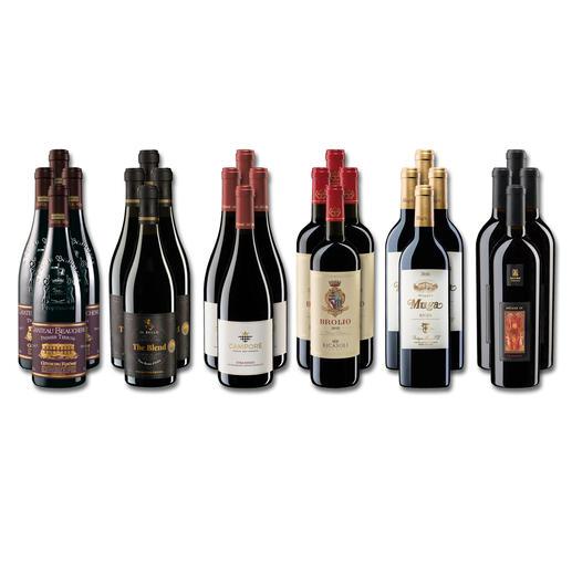 Weinsammlung - Die kleine Rotwein-Sammlung für anspruchsvolle Geniesser Herbst 2020, 24 Flaschen Wenn Sie einen kleinen, gut gewählten Weinvorrat anlegen möchten, ist dies jetzt besonders leicht.