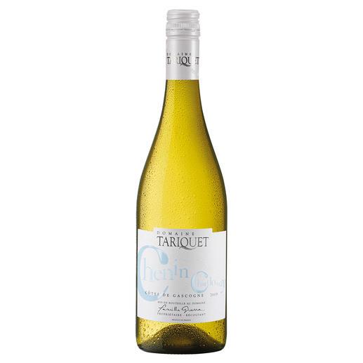 """Chenin-Chardonnay 2019, Côtes de Gascogne, Frankreich """"Der beste Weisswein aus Frankreich."""" (Von mehr als 50 französichen Weissweinen, Mundus Vini Frühjahrsverkostung 2014, www.mundusvini.com über den Jahrgang 2013)"""
