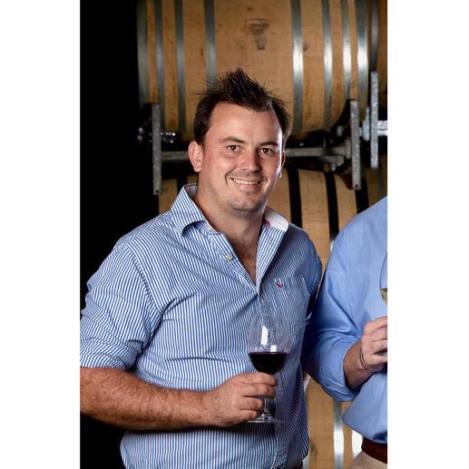 Chef-Weinmacher Reginald Botha