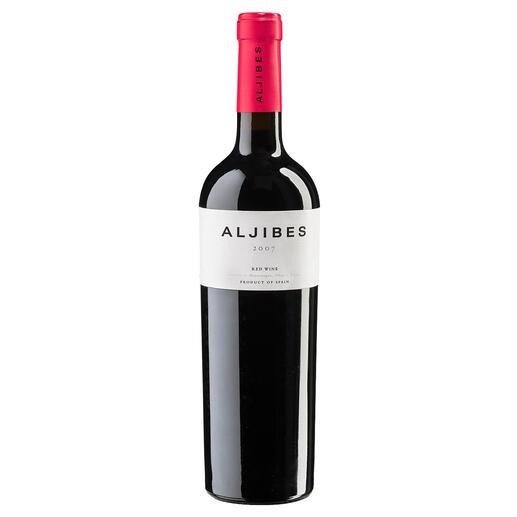 """Aljibes 2007, Bodega Los Aljibes, La Mancha, Spanien """"Aussergewöhnlicher Weinwert. 92 Punkte."""" (Robert Parker, robertparker.com, TheWineAdvocate195, 02.05.2011)"""