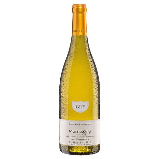 Bourgogne Montagny 2017, Vignerons de Buxy, Burgund, Frankreich Der Weisswein des Jahres aus Frankreich. (Weinwirtschaft 01/2018)