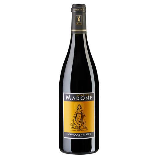 """LaMadone2018, DomainedelaMadone, BeaujolaisVillagesAOP, Frankreich """"Ein grossartiger Weinwert"""". 92 Punkte von Robert Parker (TheWineAdvocate244,30.08.2019)."""