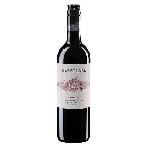 """Heartland Shiraz 2018, Heartland Wines, Langhorne Creek, Australien Der Sieger unserer Wine Competition """"Shiraz bis 15 Franken, Oktober 2016"""" (Von 51 verkosteten Weinen unter 15 Franken aus der Rebsorte Shiraz.)"""