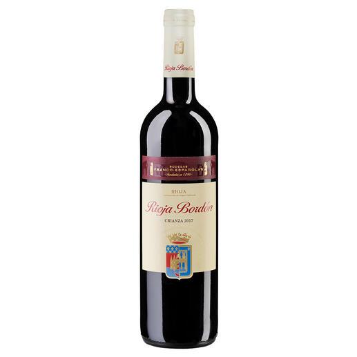 Bordón Crianza 2017, Bodegas Franco-Españolas, Rioja DOCa, Spanien Er macht Weine mit 100-Parker-Punkten (RobertParker, TheWineAdvocate169,28.02.2007). Doch die besondere Empfehlung ist dieser Rioja.
