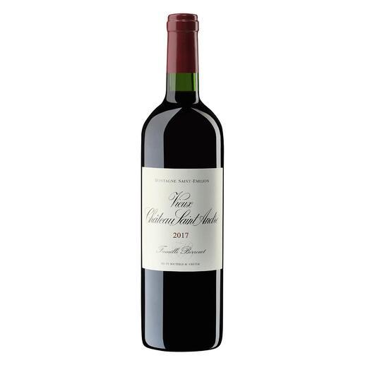 Vieux Château Saint André 2017, Montagne Saint-Emilion, Bordeaux, Frankreich Der bezahlbare Bordeaux mit dem Know-how von Château Petrus.  Vom Weinmacher des Jahres 2018. (www.thedrinksbusiness.com, 19.03.2018)
