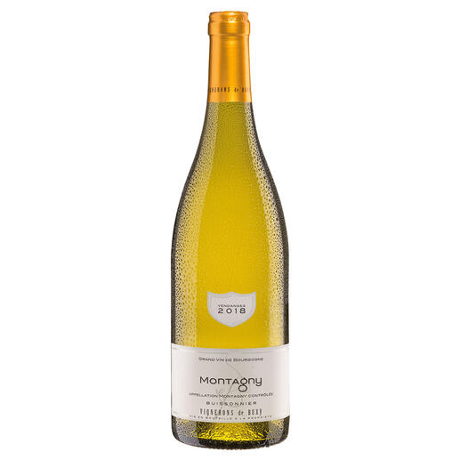 Bourgogne Montagny 2018, Vignerons de Buxy, Burgund, Frankreich Der Weisswein des Jahres aus Frankreich. (Weinwirtschaft 01/2018)