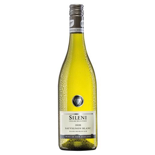 Sileni Sauvignon Blanc 2020, Sileni Estate, Marlborough, Neuseeland Der beste Weisswein aus Neuseeland. Unter mehr als 70 (!) Konkurrenten. (Mundus Vini 2013, www.mundusvini.com)