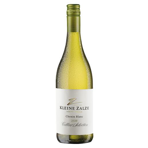 Kleine Zalze Chenin Blanc 2020, Stellenbosch, Südafrika Der beste Weisswein Südafrikas. Von 50 verkosteten Weissweinen aus Südafrika. (Mundus Vini Sommerverkostung 2015 über den Jahrgang 2015)