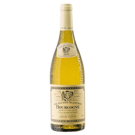 """Bourgogne Chardonnay """"Les Roches Blanches"""" 2019, Louis Jadot, Burgund, Frankreich Endlich ein weisser Burgunder, der seinen Namen verdient."""