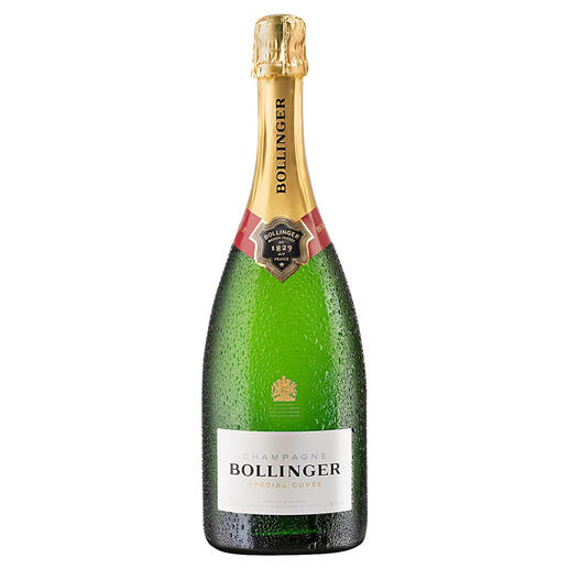 Champagne Bollinger Special Cuvée, Bollinger, Champagne, Frankreich Schon 1884 Hoflieferant des britischen Königshauses. Bis heute ein aussergewöhnlicher Champagner.
