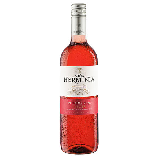 Viña Herminia Rosado 2020, Rioja, Spanien Der neue Typ Rosé-Wein.