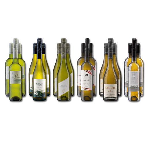 Weinsammlung - Die kleine Weisswein-Sammlung Herbst 2021, 24 Flaschen Wenn Sie einen kleinen, gut gewählten Weinvorrat anlegen möchten, ist dies jetzt besonders leicht.